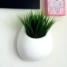 white ceramic wall planter ceramic wall planter white round wall pocket hand painted modern home decor white ceramic wall planter