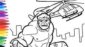 For more info on superheroes go here. Hulk Destroys Helicopter Coloring Pages Superheroes Coloring Book Marvel Avengers Youtube