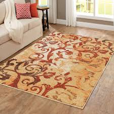 better homes and gardens scrollwork area rug with better