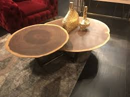 live edge coffee tables that capture nature s beauty in their designs round live edge coffee