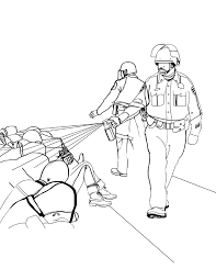 Police Brutality Coloring Book A Lesson