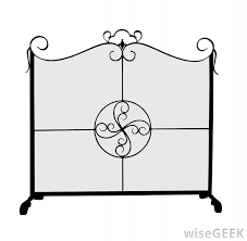 fire baskets are often among fireplace accessory sets that include fireplace screens