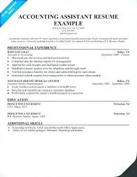 Example Accounting Resumes Accounting Resume Objective Samples 91