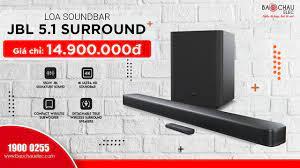 Khám phá loa Soundbar JBL Bar 5.1 Ultra HD 4K công suất 510W, Âm thanh vòm  hệ thống rạp hát gia đình - YouTube