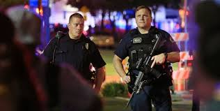 Unprovoked Violence By Us Security Forces Police Officer Shot