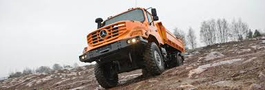 zetros trucks mercedes benz commercial vehicles designed for easy operation even in challenging situations