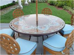patio table covers with umbrella hole how to round patio table cover with umbrella hole