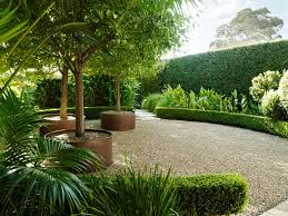 Small Picture Hedging examples and the use of trees and larger specimen plants