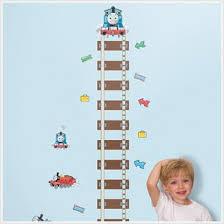 Thomas The Train Growth Chart Amazon Com Thomas The Train Growth Chart Wall Stickers Kids