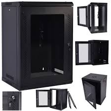 Wall Mount Cabinet With Lock Network Cabinet Ebay