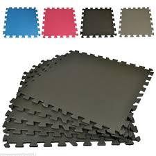 interlocking eva soft foam yoga non slip exercise gym floor mats mat interlock 1 sur 5 voir plus