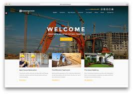 Construction Website Templates Enchanting 48 Best Construction Company WordPress Themes 48 Colorlib