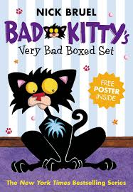 bad kitty s very bad boxed set number 1 bad kitty gets a bath happy birthday bad kitty bad kitty vs uncle murray 9781250010346 nick bruel books