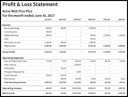 Profit And Lost Sheet How To Create An Income Statement In Xero