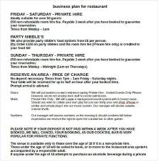 Ms Word Business Plan Template Business Plan Templates 43 Examples In Word Free Premium