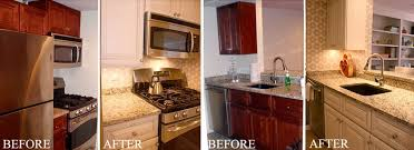 Elegant Kitchen Cabinet Painting Before And After Pictures