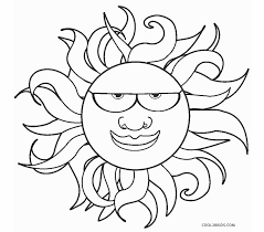 Print the coloring objects for kids to learn & color. Free Printable Sun Coloring Pages For Kids
