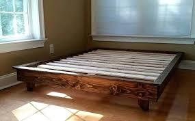 Low Profile Bed Frames King — Glamorous Bedroom Design