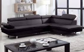 2 piece modern bonded leather right facing chaise sectional sofa com
