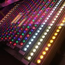 light ip65 12v 24v led wall washer rgb