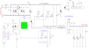 schematic diagram of power inverter 12v to 220v images inverter diagram further 12v inverter circuit besides to 220v