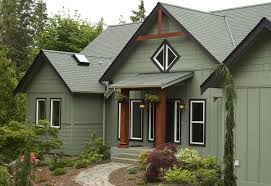Painting Exterior Trim Concept Painting