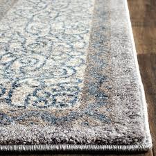 gray and brown rug light gray blue area rug