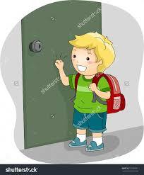Open Door clipart child Pencil and in color open door clipart child