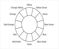 Here are the available worksheets about colours! Free 5 Sample Color Wheel Chart Templates In Pdf