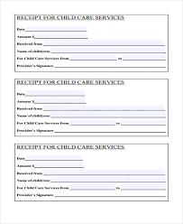 Child Care Receipt Child Care Receipt Rome Fontanacountryinn Com