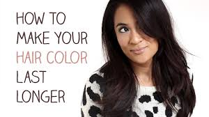 How To Make Color Last Longer In Your Hair L