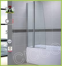 best quality walk in glass shower door