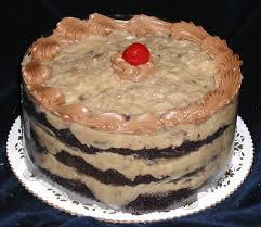 Decorated German Chocolate Cake Specialty Torte Cakes Dinkels