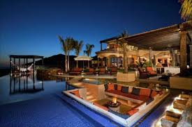 luxury home swimming pools. Exellent Home Luxury Home Swimming Pool Lounge With Hammock Pools O
