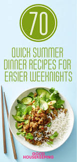 Good Housekeeping Light And Healthy Recipes Light Summer Meals That Are Fast And Easy To Make Food