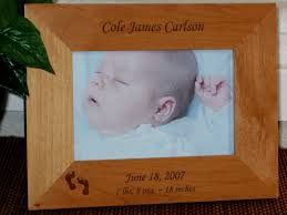 baby frames personalized baby picture frames