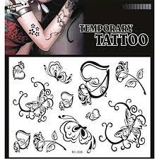 239 Tetování Samolepky Netoxický Vzor Spodní části Zad Voděodolná Další Dospělý Dospívající červený Papír 1 17 16