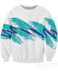 90s Cup Design 90s Paper Cup Design Sweatshirt