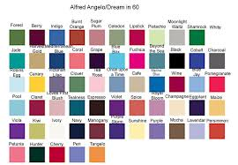 Alfred Angelo Colour Chart Alfred Angelo Dress Color Chart Bridesmaid Duty Color