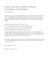 Cover Letter Sample Programmer Piqqus Com