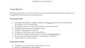Curriculum Vitae Amazing Executive Secretary Cv Sample Legal Secretary Resume Executive