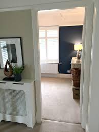 Small room with dark walls - dark blue painted walls in bedroom - Interior  Design -