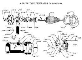 flathead electrical wiring diagrams generator 3 brush type for 1938 39