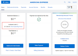 how to check your amex credit limit