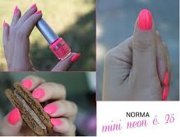 Norma Nail Polish Neon Lak Na Nehty Neonový Světle Růžový Matný N7 11ml