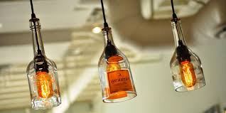 Decorative Wine Bottles With Lights Awesome DIY wine bottle pendant lighting ideas to decorate exterior 100