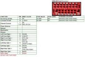 ford wiring diagram color codes ford image wiring 2004 ford ranger radio wire colors images on ford wiring diagram color codes