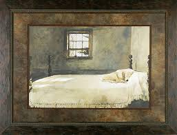Andrew Wyeth Master Bedroom Print Framed ...