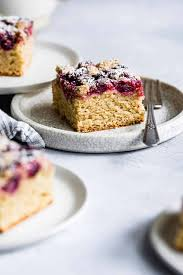 In a small bowl, stir together the streusel ingredients until well mixed (brown sugar, coconut oil, brown rice flour, and cinnamon). Cardamom Cranberry Gluten Free Coffee Cake Snixy Kitchen