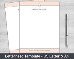 stationary template for word 17 beste ideer om letterhead template word på pinterest